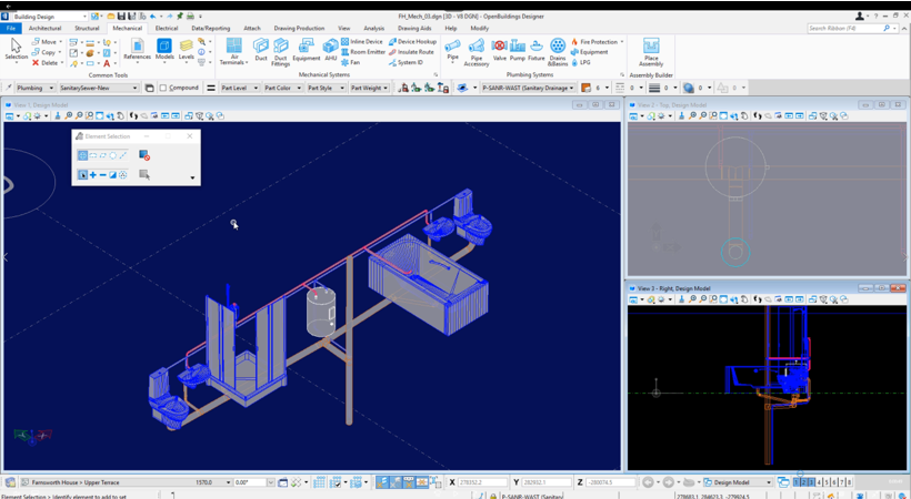 Building_OpenBuildings_Mechanical_Modeling