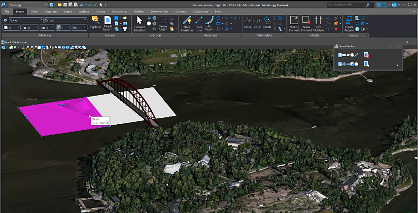Microstation_Blog Using Big Data_Orginal bridge design