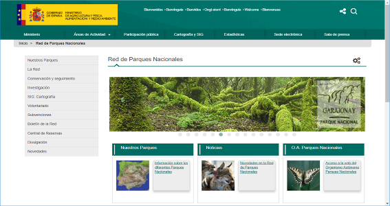Reality Modeling_User Blog_Development of a Web Geoportal for Consultation of the National Parks