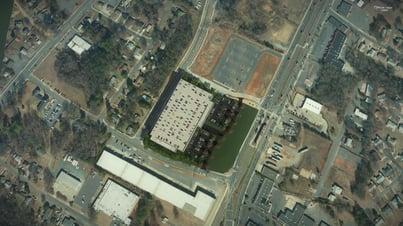 Rail Parking Deck Aerial OpenSite